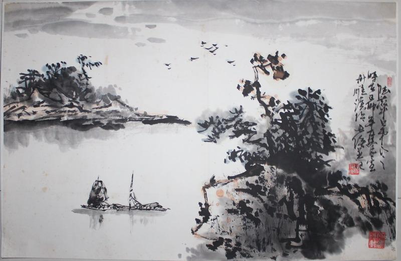 唐朝诗意风景图片